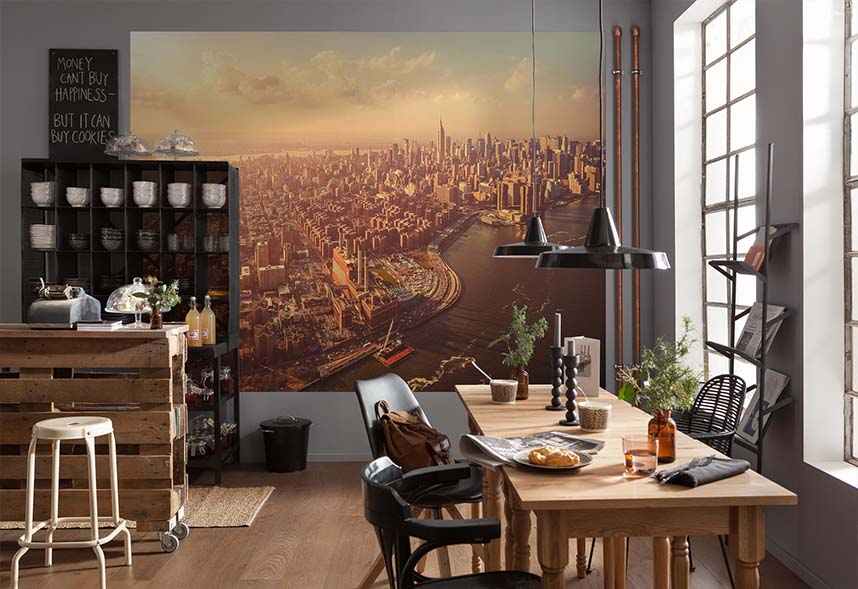 Infrumuseteaza bucataria cu decoratiuni ieftine si moderne - Moderne fototapeten ...