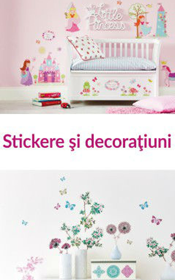 Care e diferența dintre stickere și decorațiuni?