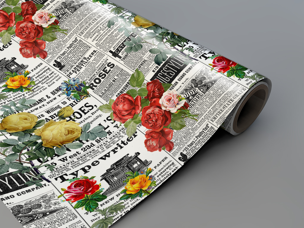 Autocolant-mobila-model-ziare-cu-flori-v11-4-2327