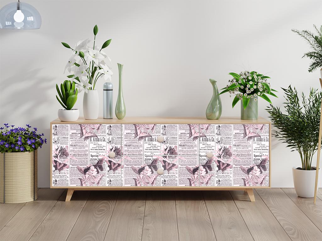 Autocolant-mobila-model-ziare-cu-flori-v2-3-5479