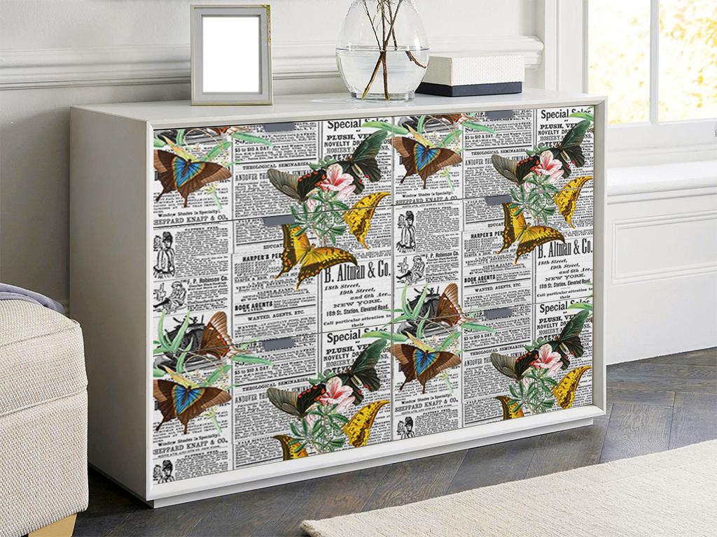 Autocolant-mobila-model-ziare-cu-flori-v7-1-2953