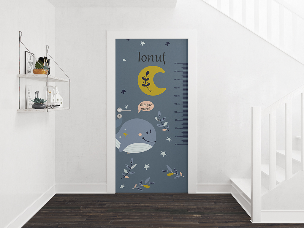 Autocolant-uşă-Balenă-pentru-copii-Folina-1-2672