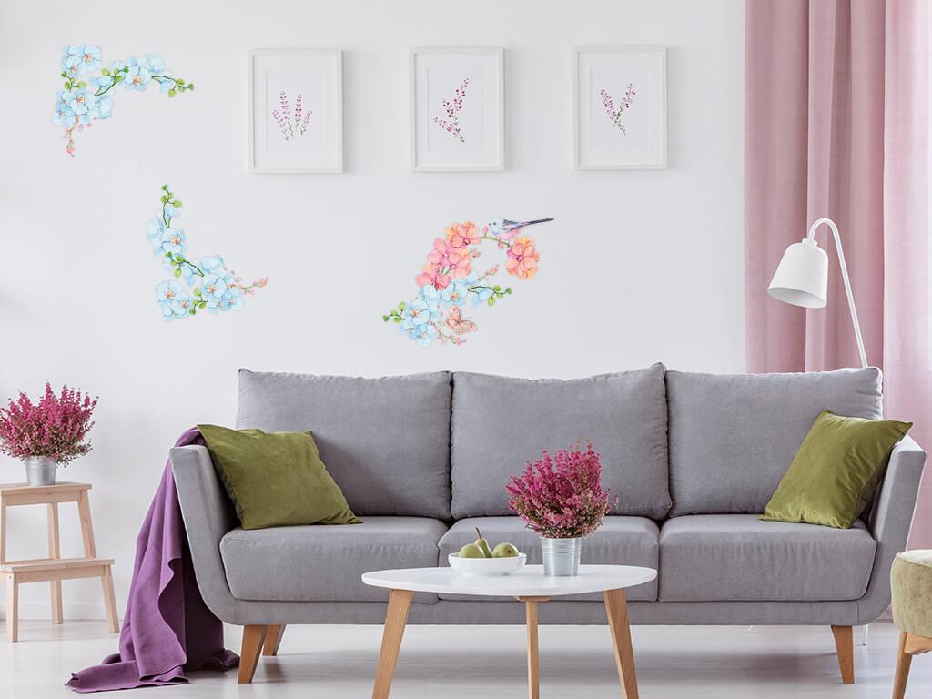 Stickere-geam-model-floral-pasare-6-4940