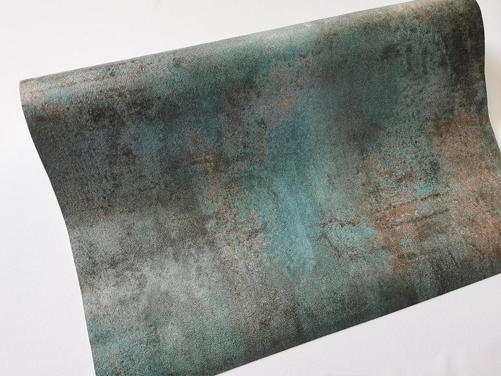 autocolant-cu-efect-metalic-turcoaz-bronz-4356