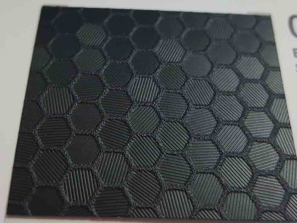 Autocolant negru Oracal Honeycomb