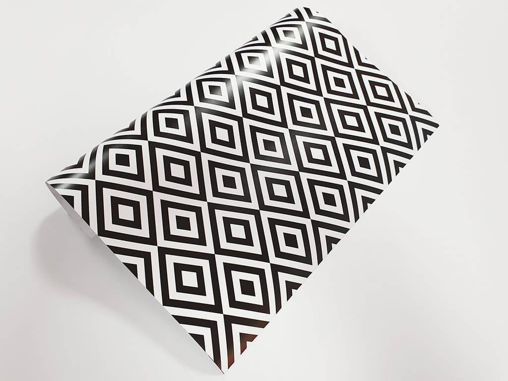 autocolant-decorativ-romburi-negre-1809