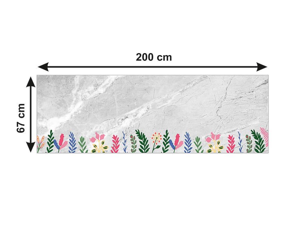 autocolant-marmura-gri-ornamente-florale-x1-1159