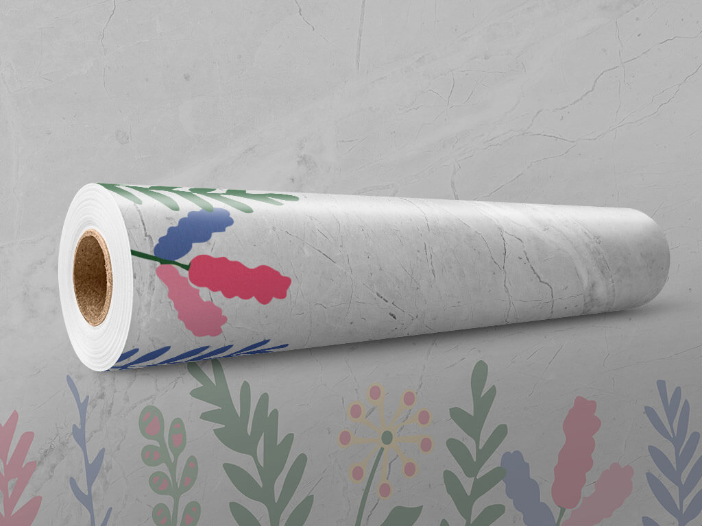 autocolant-marmura-gri-ornamente-florale-x2-5856