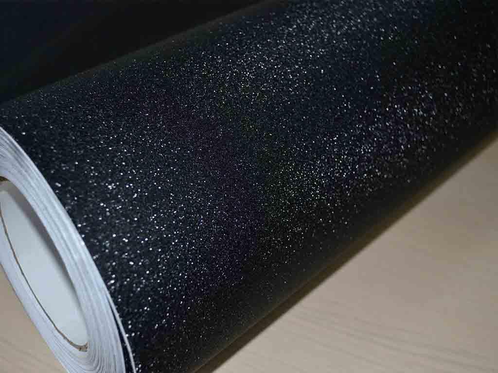 autocolant-negru-glitter-6404