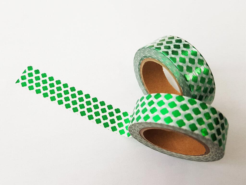 banda-adeziva-washi-tape-damasc-smarald-2315