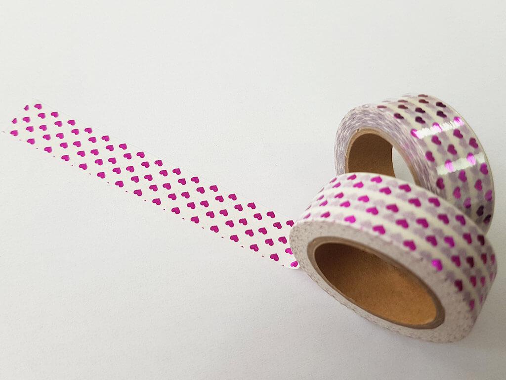 banda-adeziva-washi-tape-inimioare-roz-7342