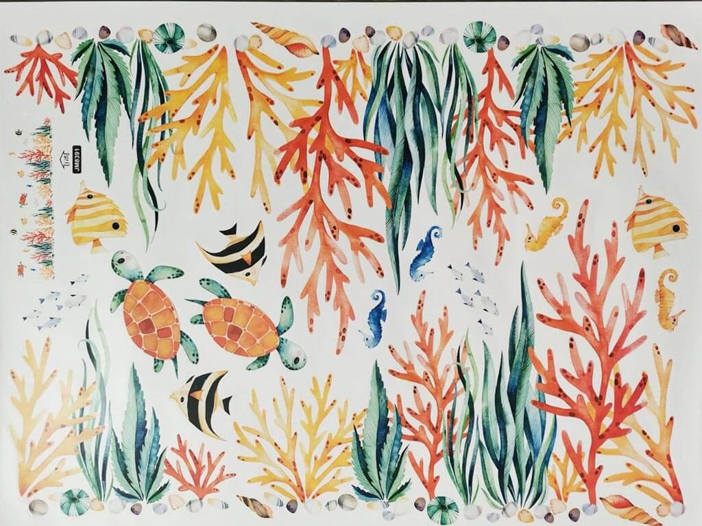 bordura-decorativa-autoadeziva-corali-si-pesti-9239