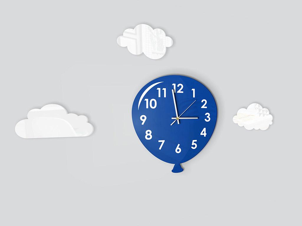 ceas-decorativ-balon-albastru-2310