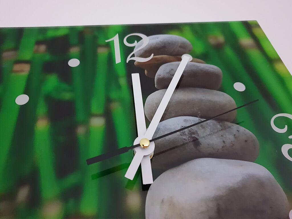 ceas-perete-verde-zen-1198