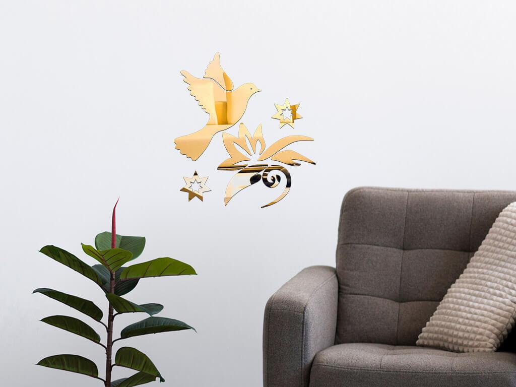 decoratiune-perete-oglinda-aurie-pasare-in-zbor-2871