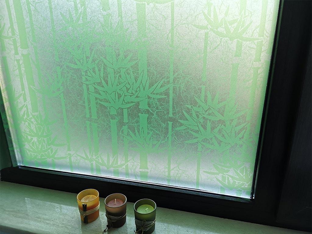 folie-geam-autoadeziva-bambus-verde-folina-imprimeu-crengi-de-bambus-90-cm-9903