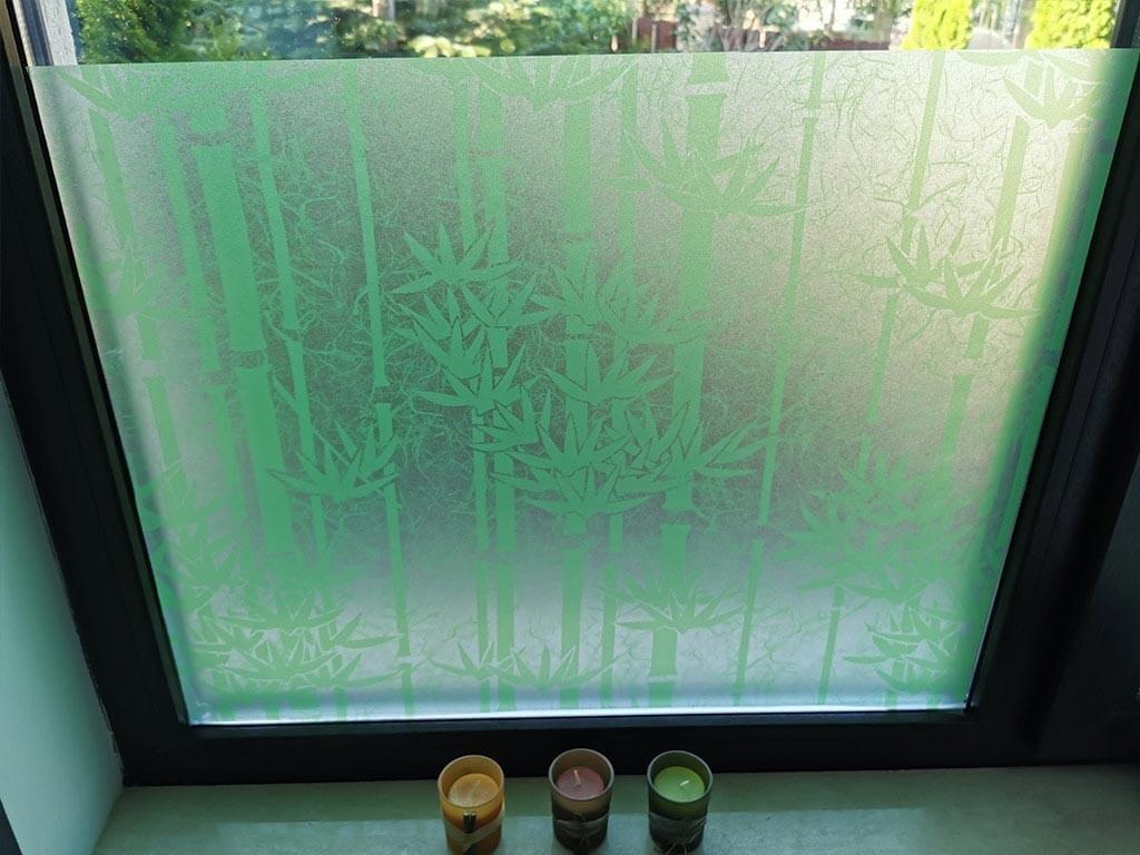 folie-sablare-geam-model-bambus-verde-5148