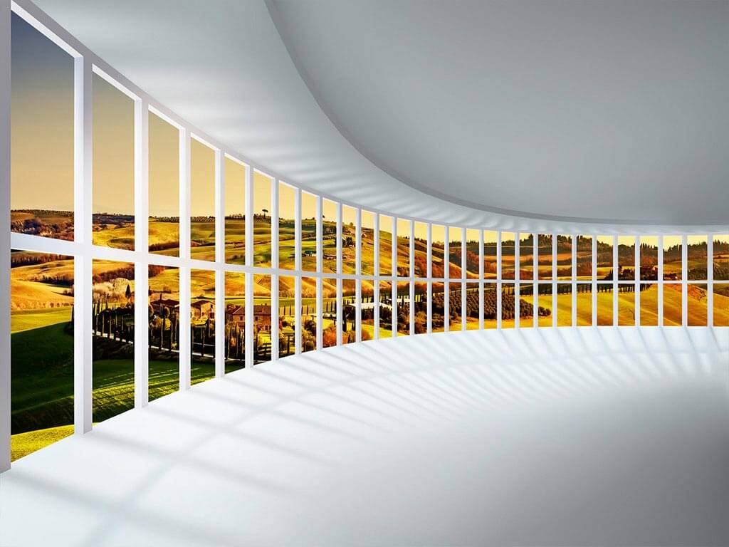 fototapet-3d-peisaj-rounded-hall-dimex-2174