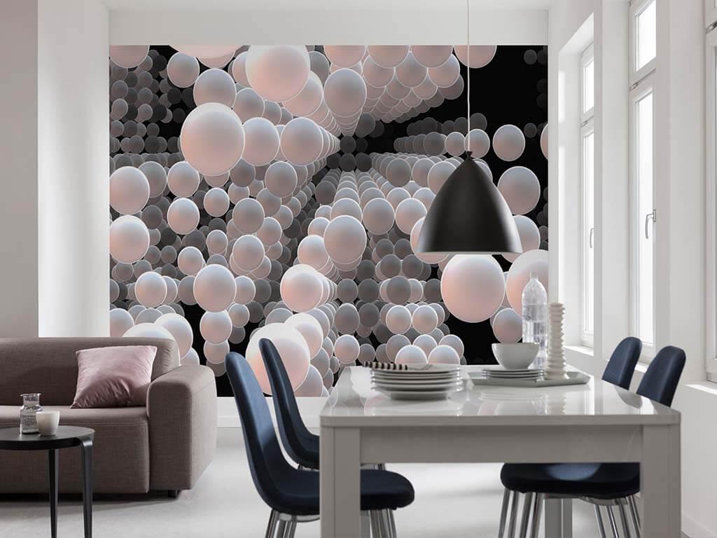 Fototapet Abstract 3d Spherical Tapet Living Folina