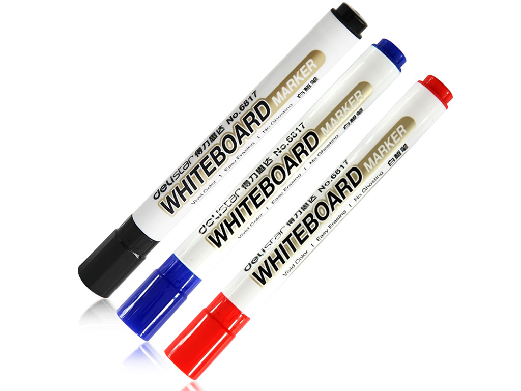 Marker whiteboard - set 3 culori