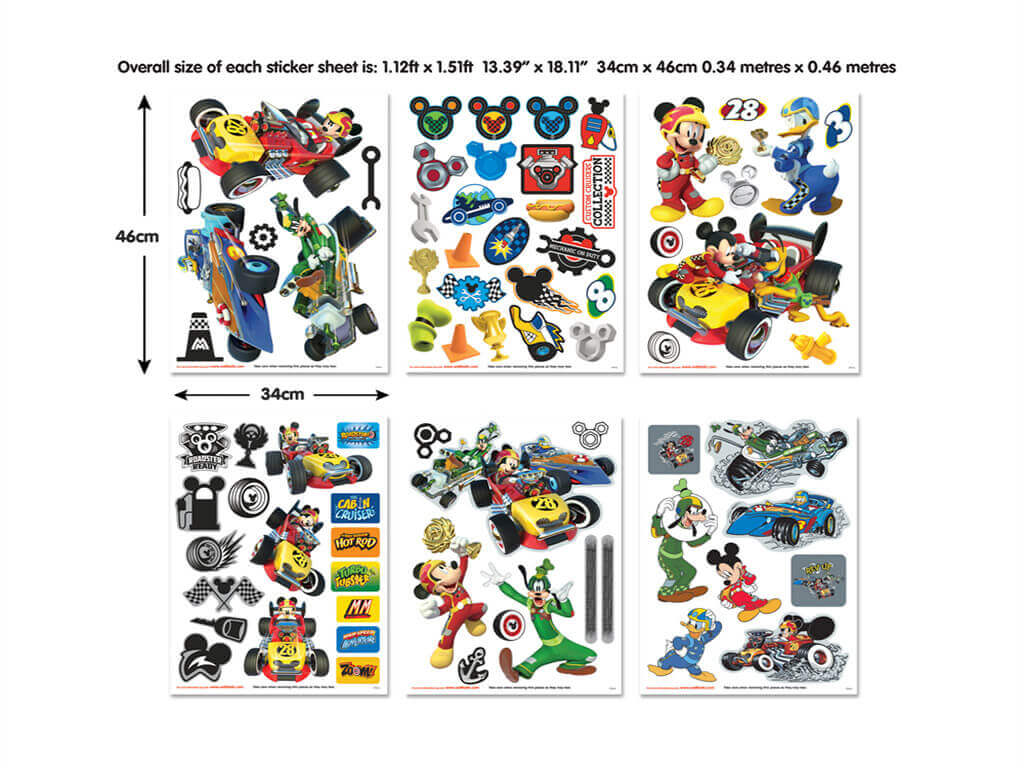 set-stickere-mickey-mouse-masini-9116
