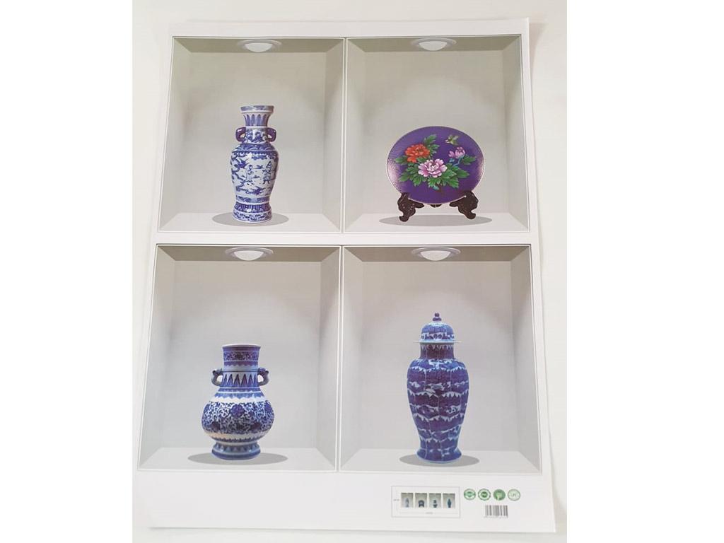 sticker-3d-rafturi-cu-vaze-4460
