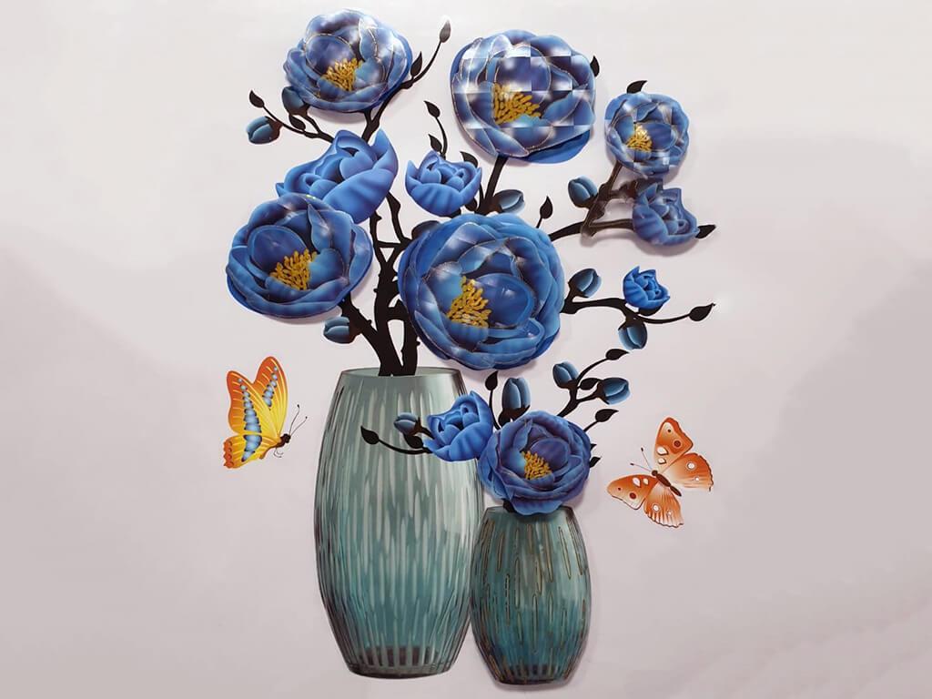 sticker-3d-vaza-cu-flori-albastre-9832