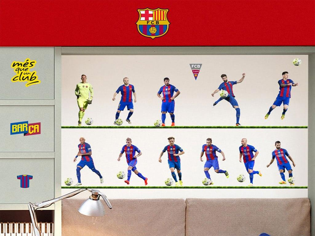 sticker-echipa-fotbal-fc-barcelona