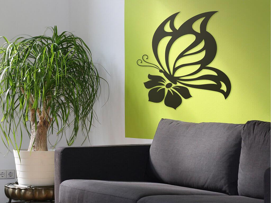 sticker-fluture-negru-8112