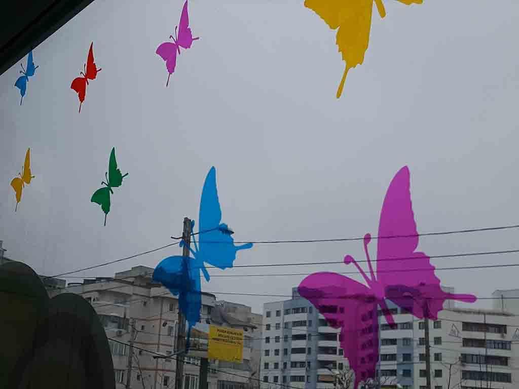sticker-geam-cu-fluturi-colorati