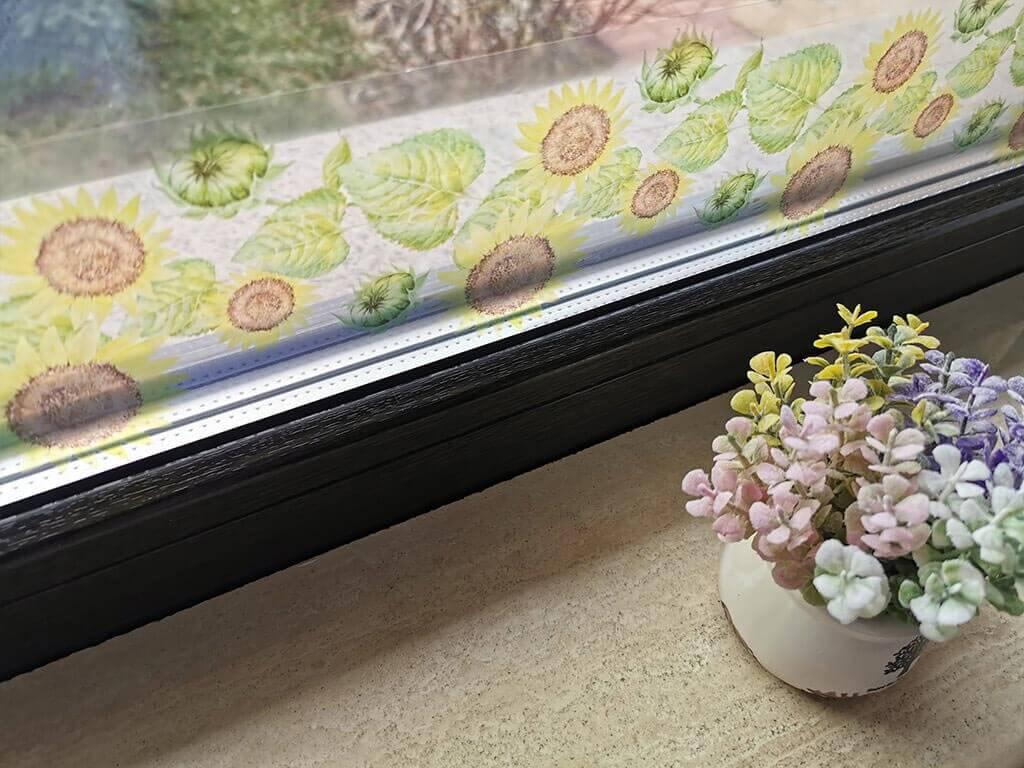 sticker-geam-folina-bordura-decorativa-floarea-soarelui-10-135-cm-7285