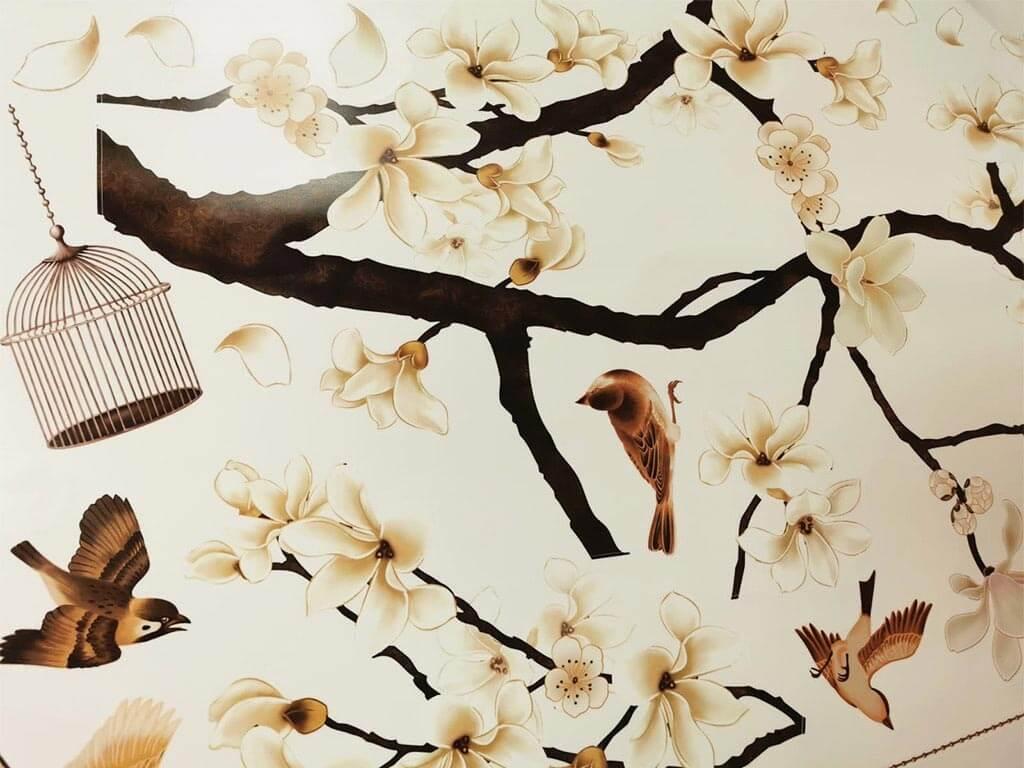 sticker-magnolie-bej-crengi-si-pasari-4596
