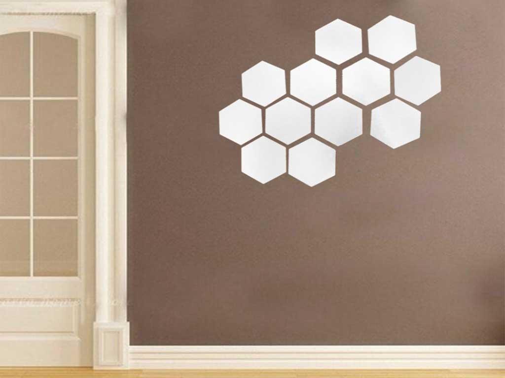 sticker-oglinda-hexagon-folina