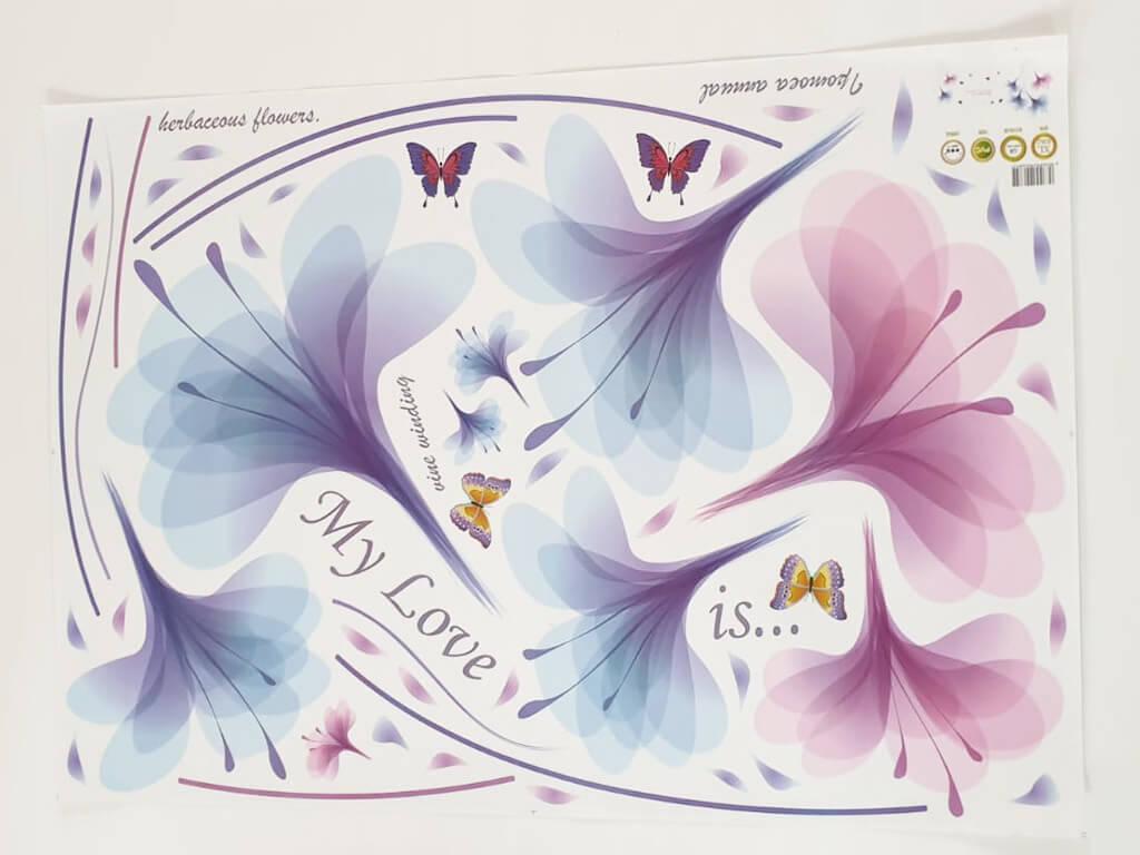 sticker-perete-flori-mov-2841