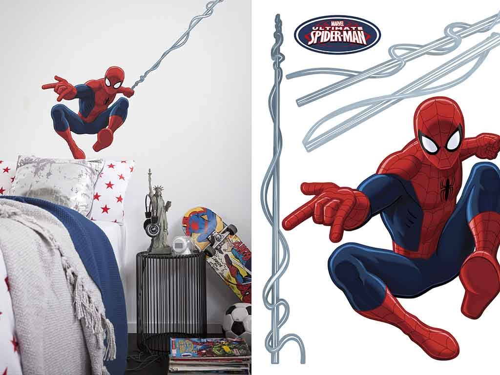 Sticker Spider Man