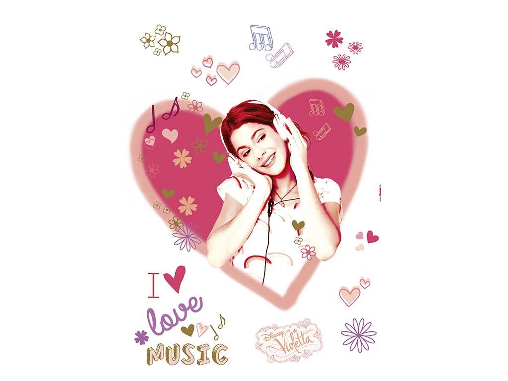 sticker-violetta-i-love-music-6588