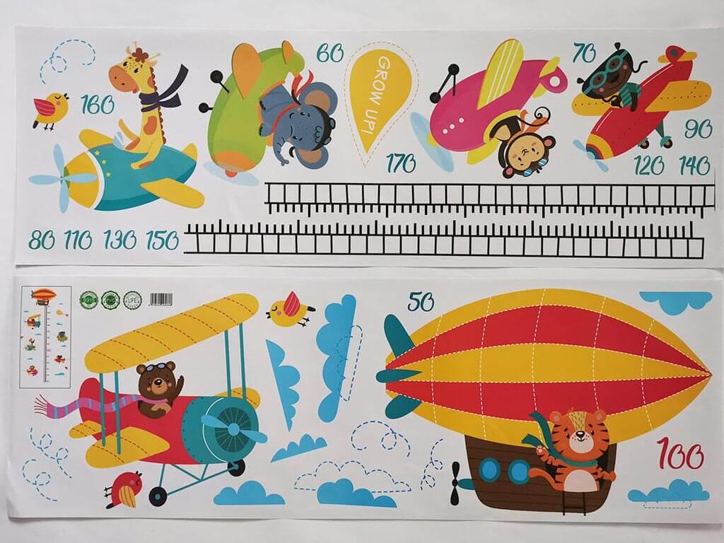 stickere-animale-in-avioane-colorate-4509