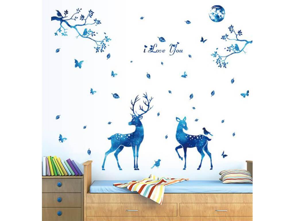 stickere-caprioare-decor-albastru-3383