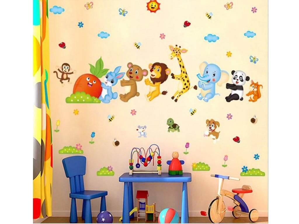 stickere-copii-animale-multicolor-6028