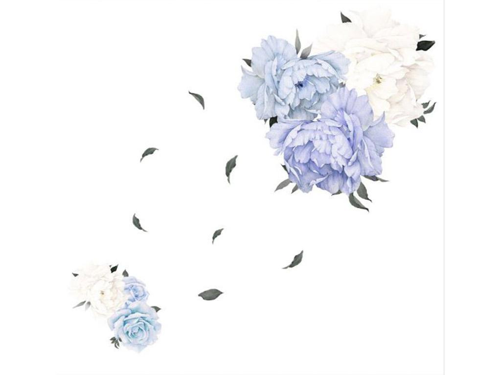 stickere-flori-albastre-mari-3806