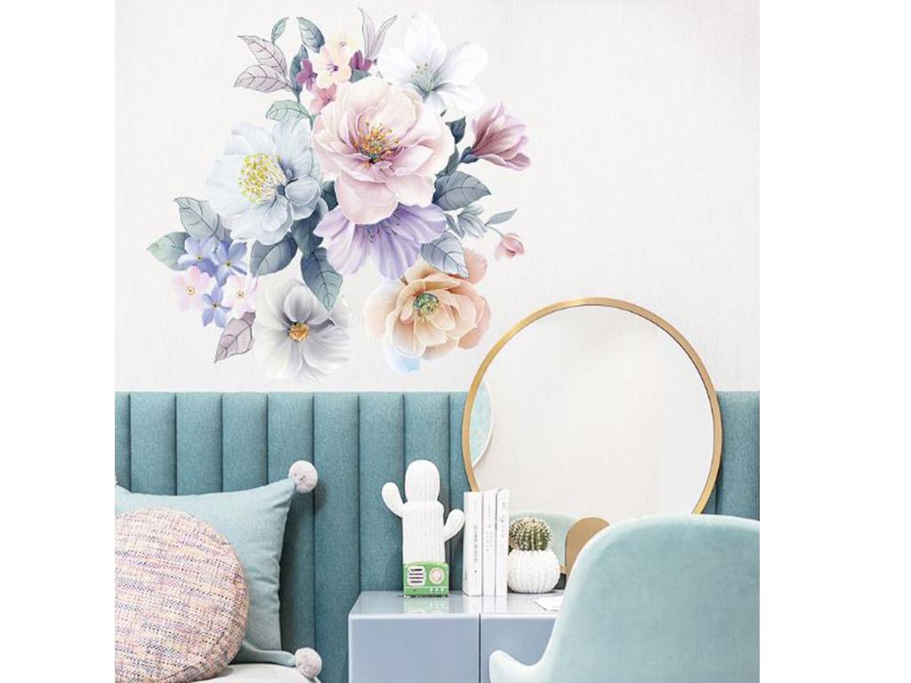 stickere-flori-nuante-pastel-50-cm-5905
