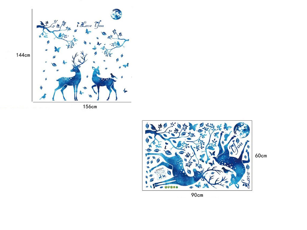 stickere-perete-caprioare-folina-decor-albastru-7857