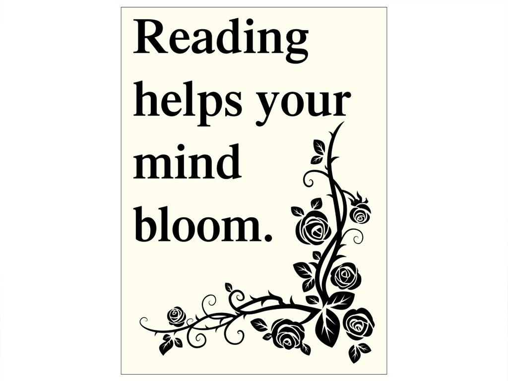 tablou-mesaj-motivational-reading-9000