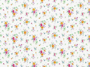 Autocolant decorativ Sunflor, d-c-fix, model floral, multicolor