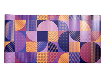 Autocolant decorativ, Folina, model geometric mov, 100 cm lăţime