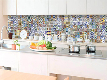Autocolant perete backsplash Portugal Tiles, Dimex, 60x350 cm