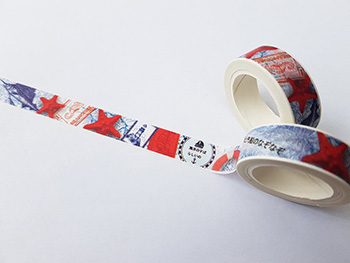Bandă adezivă Washi Tape decor marin
