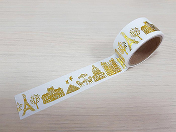 Bandă adezivă Washi Tape Paris
