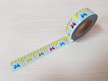 Bandă adezivă Washi Tape party