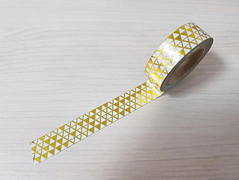 Bandă adezivă Washi Tape piramide